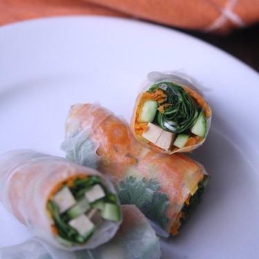 Smoked Tofu Summer Rolls Recipe   SideChef