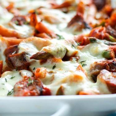 Sausage Asparagus Pasta Bake Recipe   SideChef