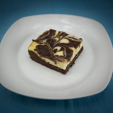 Marble Swiss Cheesecake CBD Brownies Recipe   SideChef