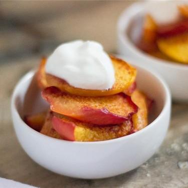 Baked Cinnamon Peaches Recipe | SideChef
