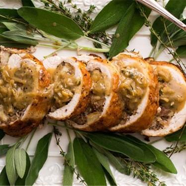 Roasted Turkey Roulade Recipe | SideChef