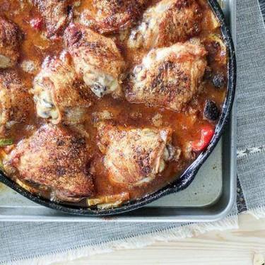 Country Chicken Cacciatore Recipe   SideChef