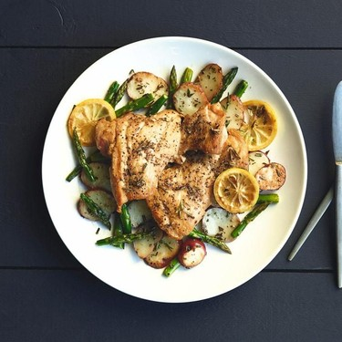 Lemon Rosemary Chicken with Roasted Red Potatoes Recipe | SideChef