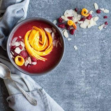 Mango Raspberry Smoothie Bowl Recipe   SideChef