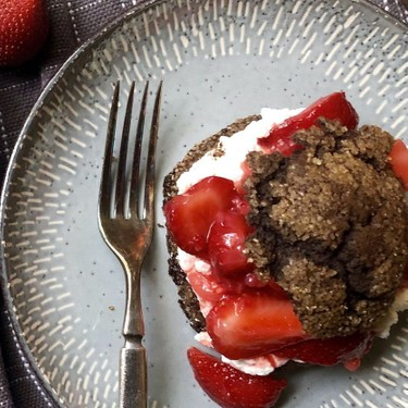 Strawberry Chocolate Shortcakes Recipe | SideChef