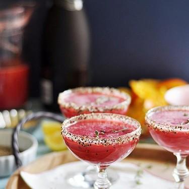 Raspberry Black Pepper Champagne Cocktail Recipe | SideChef