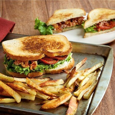 Swanky BLT with Oven-Roasted French Fries Recipe | SideChef
