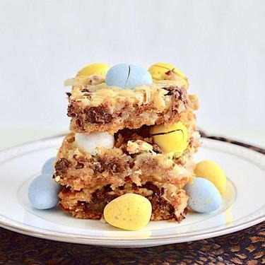 Mini Egg Magic Bars Recipe | SideChef