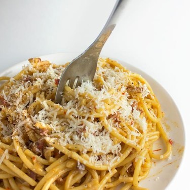 Spanish Carbonara Recipe | SideChef
