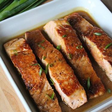 Maple & Ginger Glazed Salmon Recipe | SideChef