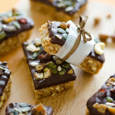 Inside Out Homemade Granola Bars Recipe | SideChef
