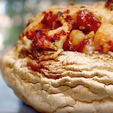 Garlic Bacon Stuffed Portobello Mushrooms Recipe   SideChef