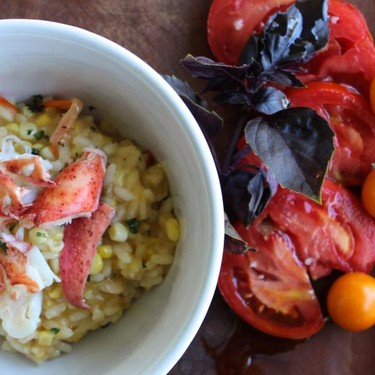 Lobster & Corn Risotto Recipe   SideChef