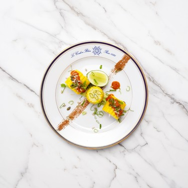 Spicy Corn on the Cob with Harissa Sauce Recipe | SideChef