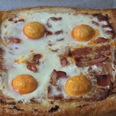 Bacon and Egg Breakfast Tart Recipe | SideChef