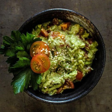 Toasted Sesame Guacamole Recipe   SideChef