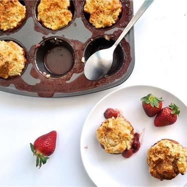 Strawberry Muffin Tin Cakes Recipe   SideChef