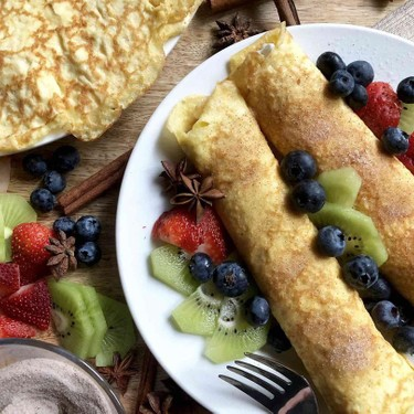Low Carb Crepes Recipe | SideChef