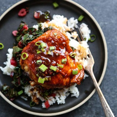 One Pan Korean Spicy Chicken Thighs with Gluten-Free Gochujang Sauce Recipe   SideChef