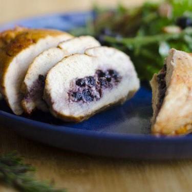 Blueberry Stuffed Chicken Recipe | SideChef