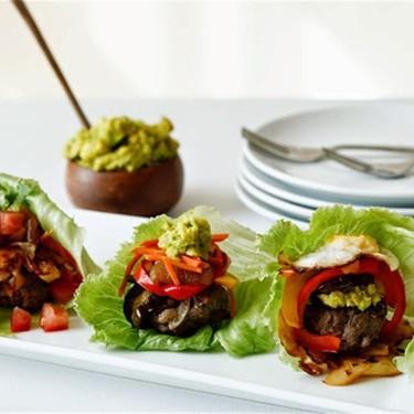 Paleo Mini Burgers with Caramelised Balsamic Onion Recipe   SideChef