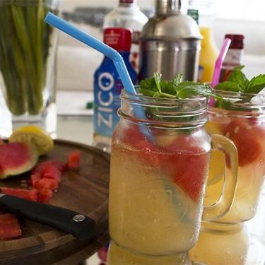 ZICO Watermelon Raspberry Sangria Recipe   SideChef