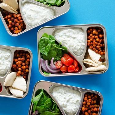 Chickpea Gyro Vegetarian Meal Prep Lunch Recipe | SideChef