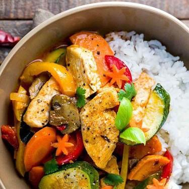 Thai Chicken Curry with Coconut Milk Recipe | SideChef
