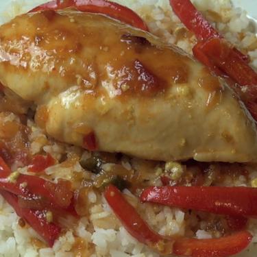 Sweet Salsa Chicken Recipe   SideChef
