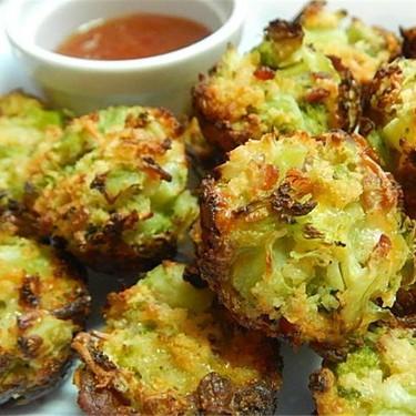 Bacon and Cheese Broccoli Bites Recipe   SideChef