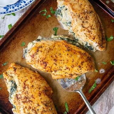 Spinach-Stuffed Chicken Breast Recipe   SideChef