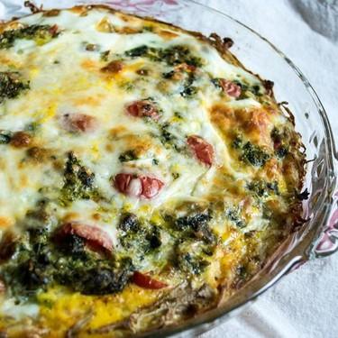 Super Greens Veggie and Tomato Frittata Recipe   SideChef