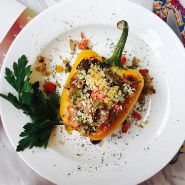 Mediterranean Stuffed Bell Peppers Recipe   SideChef