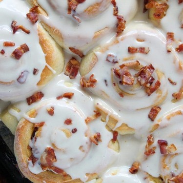 Maple and Bacon Sweet Rolls Recipe   SideChef