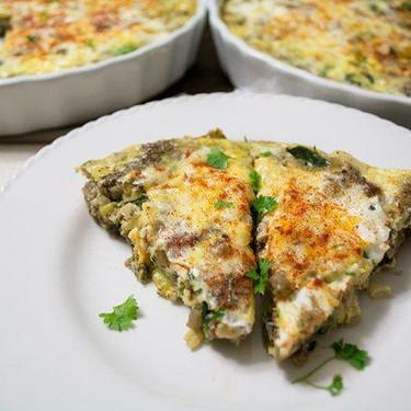 Eggplant, Sausage, and Flax Frittata Recipe | SideChef