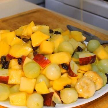 Fruit Salad with Honey-Lime Recipe | SideChef