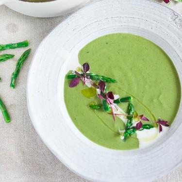Creamy Asparagus Soup Recipe   SideChef