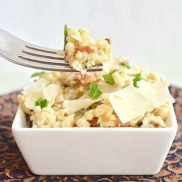 Cauliflower Rice Carbonara Recipe | SideChef