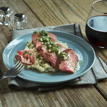 Flank Steak with Chimichurri Recipe   SideChef