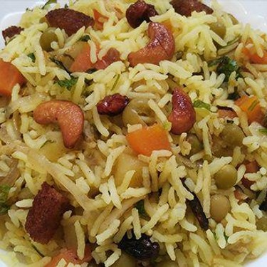 Vegetable Biriyani Recipe | SideChef