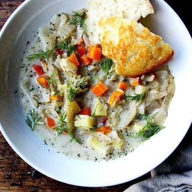 Vegetarian Cabbage Soup Recipe   SideChef