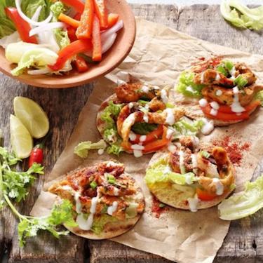 Wine Marinated Chicken Taco Bites Recipe | SideChef