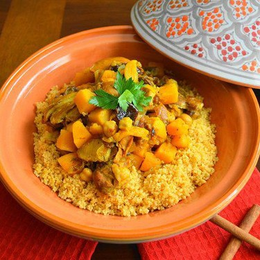 Moroccan Chicken with Couscous Recipe | SideChef