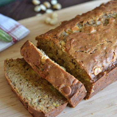 Pineapple Zucchini Bread with White Chocolate Chips Recipe | SideChef