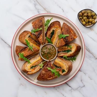 Breakfast Shooter's Sandwich Recipe | SideChef