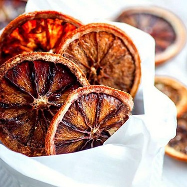 Lightly Sweetened Spiced Oven-Dried Orange Slices Recipe   SideChef