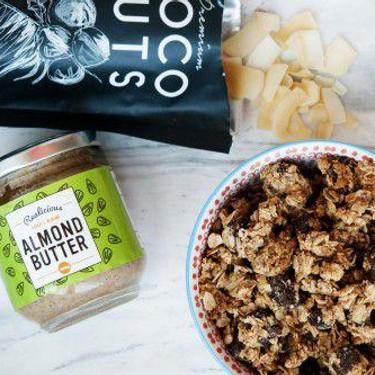 Fit Almond Butter Granola Recipe   SideChef