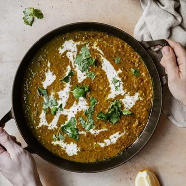 Vegan One-Pot Green Lentil Curry Recipe   SideChef