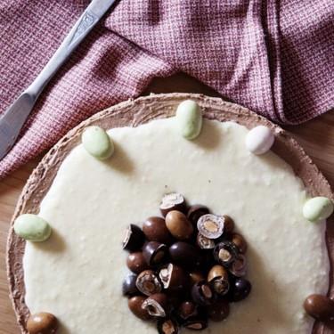 Chocolate Cheesecake with Coconut Ganache Recipe | SideChef