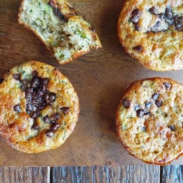 Chocolate Chip Zucchini Muffins Recipe   SideChef